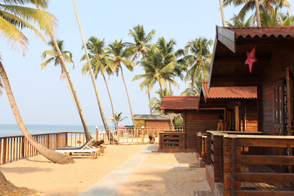Image result for beach side cottages in goa